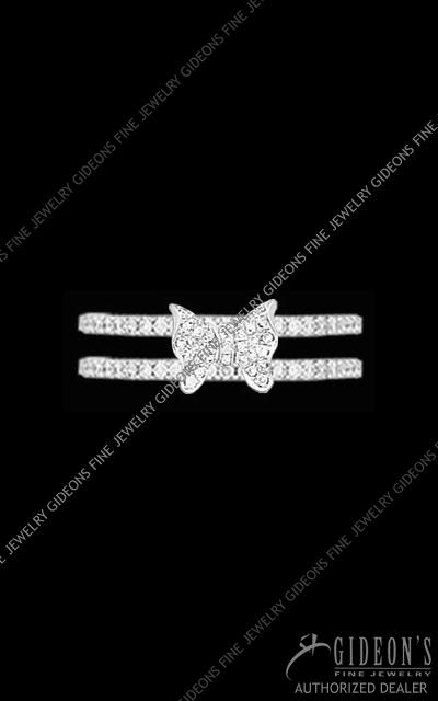 Hidalgo Diamond Insert Ring 1-101