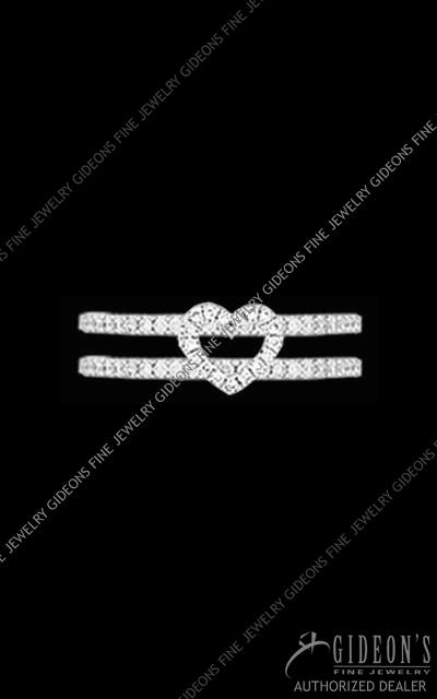 Hidalgo Diamond Insert Ring 1-102