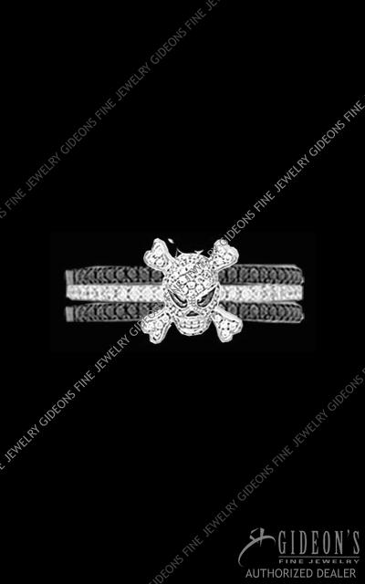 Hidalgo Diamond Insert Ring 1-103