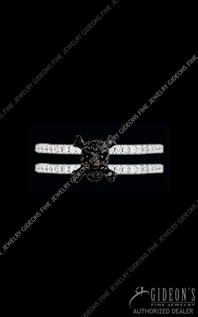 Hidalgo Diamond Insert Ring 1-104
