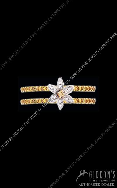 Hidalgo Diamond Insert Ring 1-105