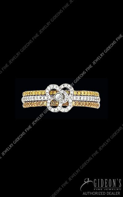 Hidalgo Diamond Insert Ring 1-108
