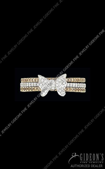Hidalgo Diamond Insert Ring 1-109