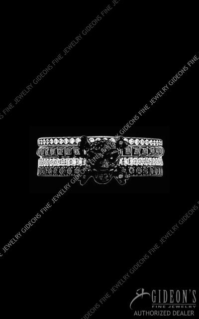 Hidalgo Diamond Insert Ring 1-111