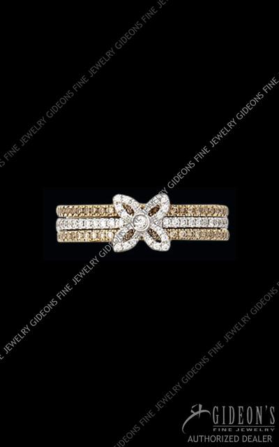 Hidalgo Diamond Insert Ring 1-112