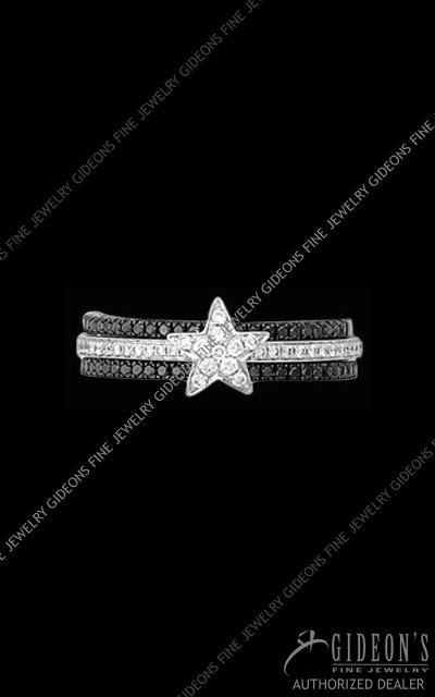 Hidalgo Diamond Insert Ring 1-113