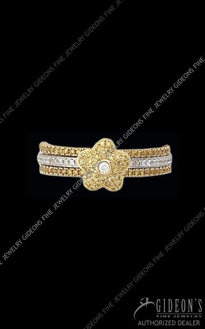 Hidalgo Diamond Insert Ring 1-114