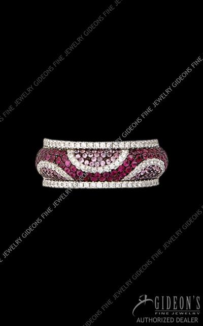 Hidalgo Stackable Rings Diamond 1-206