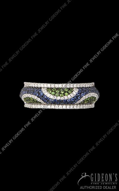 Hidalgo Stackable Rings Diamond 1-207