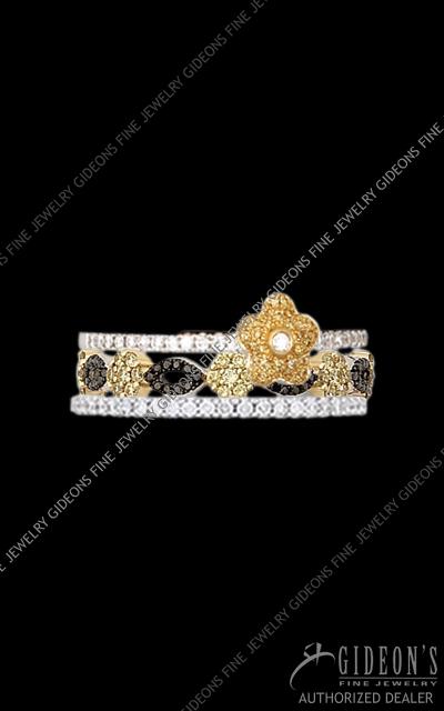 Hidalgo Stackable Rings Diamond 1-209