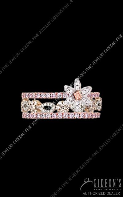 Hidalgo Stackable Rings Diamond 1-210