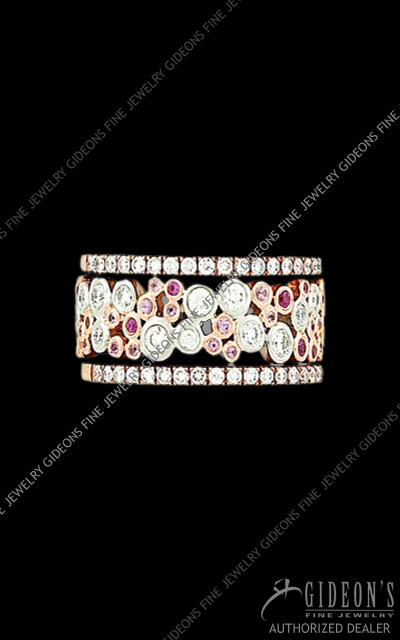 Hidalgo Stackable Rings Diamond 1-212
