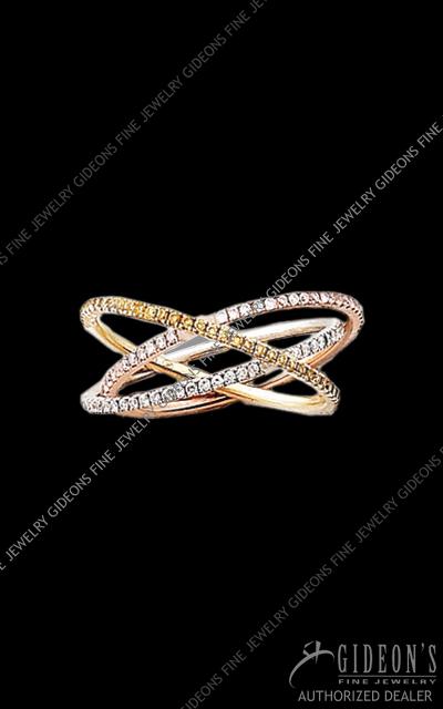 Hidalgo Stackable Rings Diamond 1-214