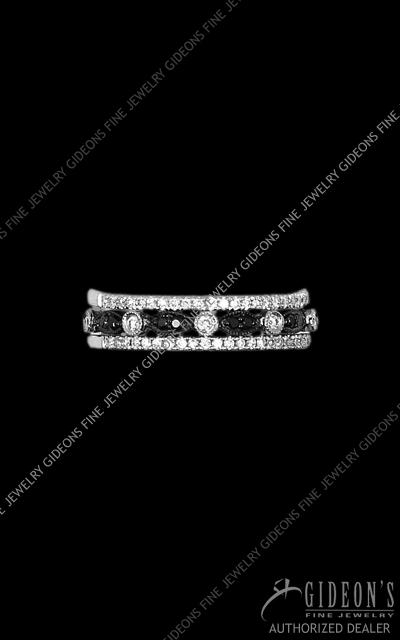 Hidalgo Stackable Rings Diamond 1-217