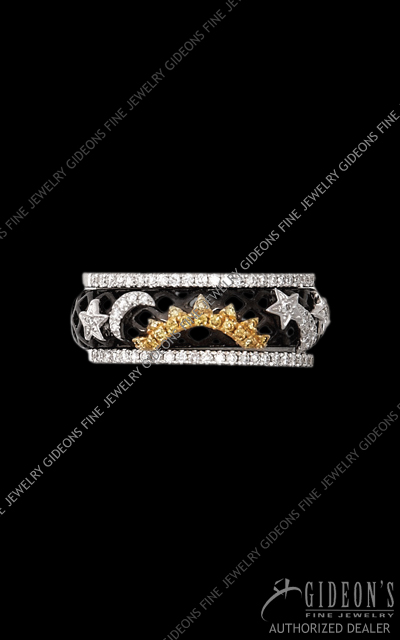 Hidalgo Stackable Rings Diamond 1-224