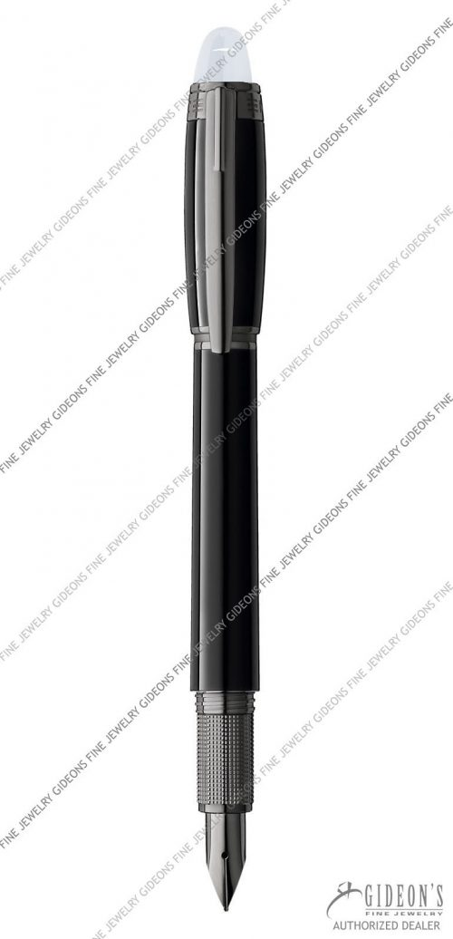 Montblanc Starwalker Midnight Black Resin Fountain Pen 105655