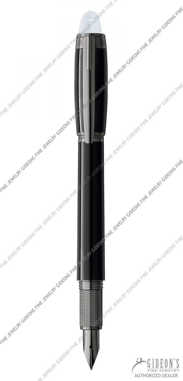 Montblanc Starwalker Midnight Black Resin Fountain Pen 105655