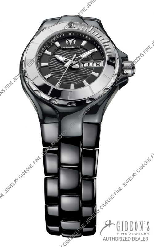 TechnoMarine Cruise Ceramic 110026C 36mm Quartz Watch