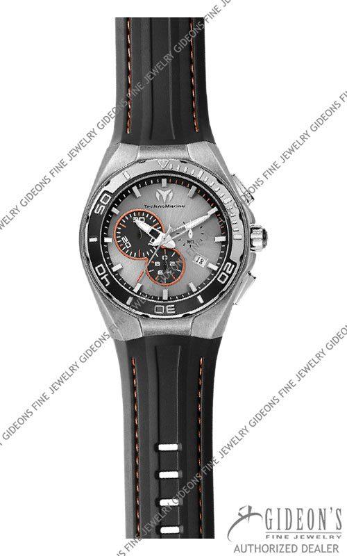 TechnoMarine Steel Evolution 112006 45mm Quartz Chronograph Watch