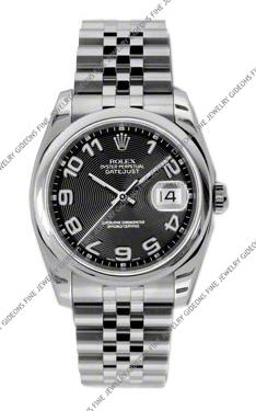Rolex Oyster Perpetual Datejust 116200 BKCAJ 36mm