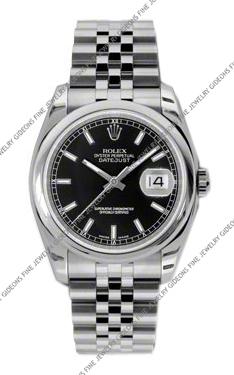 Rolex Oyster Perpetual Datejust 116200 BKSJ 36mm