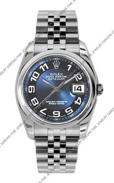 Rolex Oyster Perpetual Datejust 116200 BLBKAJ 36mm