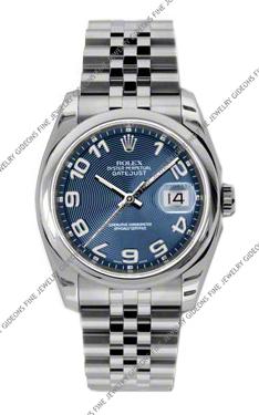Rolex Oyster Perpetual Datejust 116200 BLCAJ 36mm
