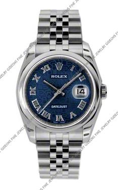Rolex Oyster Perpetual Datejust 116200 BLJRJ 36mm