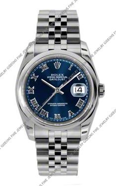 Rolex Oyster Perpetual Datejust 116200 BLRJ 36mm