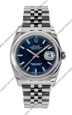 Rolex Oyster Perpetual Datejust 116200 BLSJ 36mm