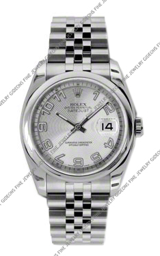 Rolex Oyster Perpetual Datejust 116200 SCAJ 36mm