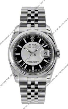 Rolex Oyster Perpetual Datejust 116200 SIBKSJ 36mm