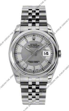 Rolex Oyster Perpetual Datejust 116200 STSISJ 36mm