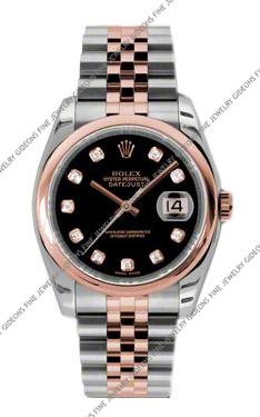Rolex Oyster Perpetual Datejust 116201 BKDJ 36mm