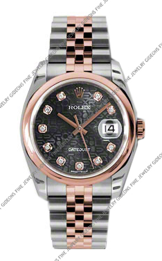 Rolex Oyster Perpetual Datejust 116201 BKJDJ 36mm