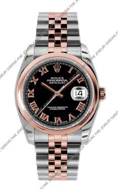 Rolex Oyster Perpetual Datejust 116201 BKRJ 36mm