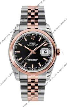 Rolex Oyster Perpetual Datejust 116201 BKSJ 36mm