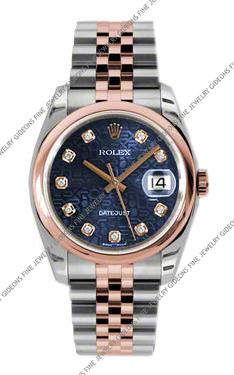 Rolex Oyster Perpetual Datejust 116201 BLJDJ 36mm