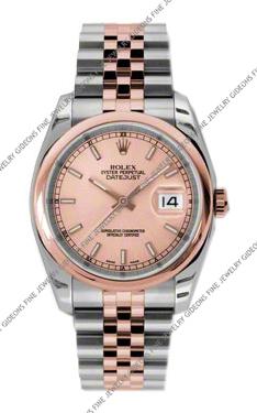 Rolex Oyster Perpetual Datejust 116201 CHSJ 36mm