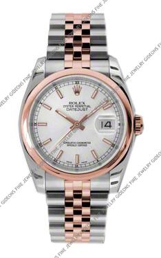 Rolex Oyster Perpetual Datejust 116201 SSJ 36mm