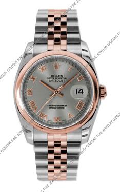 Rolex Oyster Perpetual Datejust 116201 STRJ 36mm