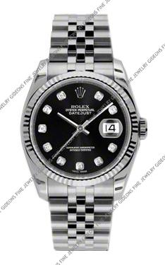 Rolex Oyster Perpetual Datejust 116234 BKDJ 36mm