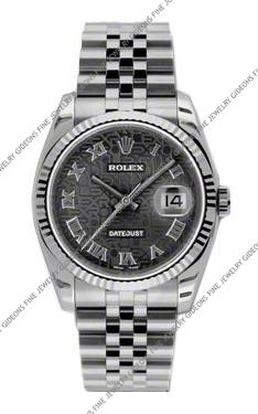 Rolex Oyster Perpetual Datejust 116234 BKJRJ 36mm