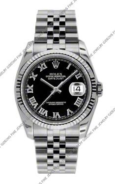 Rolex Oyster Perpetual Datejust 116234 BKRJ 36mm