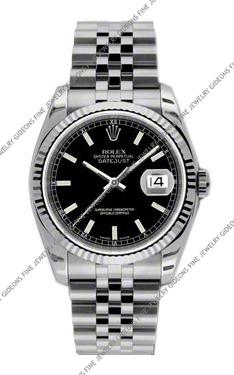 Rolex Oyster Perpetual Datejust 116234 BKSJ 36mm