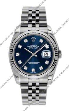 Rolex Oyster Perpetual Datejust 116234 BLDJ 36mm