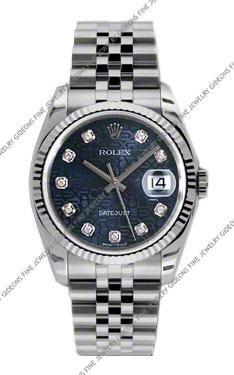 Rolex Oyster Perpetual Datejust 116234 BLJDJ 36mm