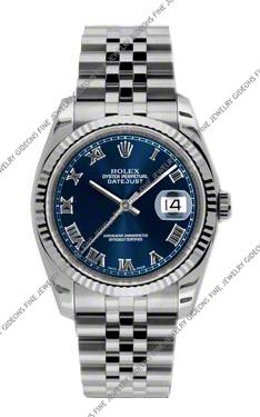 Rolex Oyster Perpetual Datejust 116234 BLRJ 36mm