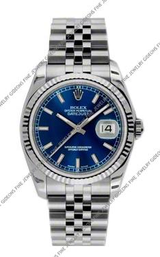 Rolex Oyster Perpetual Datejust 116234 BLSJ 36mm