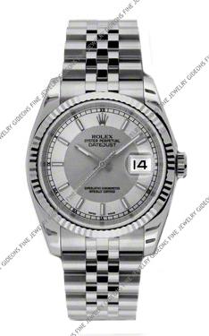 Rolex Oyster Perpetual Datejust 116234 STSISJ 36mm